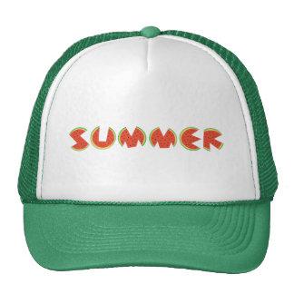 Sandía fresca linda del verano gorras