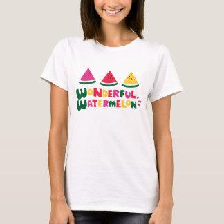 Sandía maravillosa camiseta