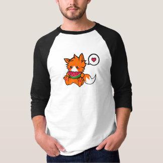 Sandía Nom del Fox del bebé Camisas