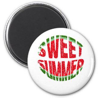 Sandía - verano dulce imán