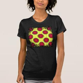 Sandías brillantes de la comida campestre del camisetas