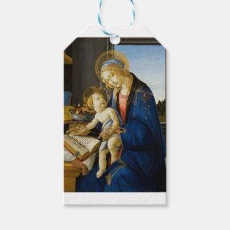 Sandro Botticelli - la Virgen y el niño Etiquetas Para Regalos
