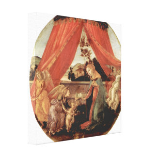 Sandro Botticelli - Madonna del Padiglione Impresiones En Lona Estiradas