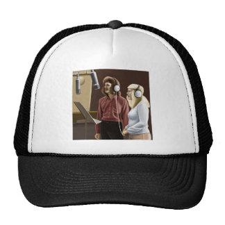 Sångare del vintage gorra
