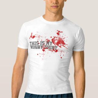 Sangre del rugbi camiseta