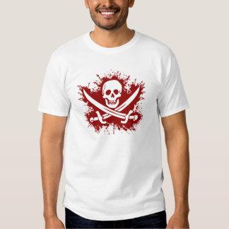 sangriento del mas del pirata camisetas
