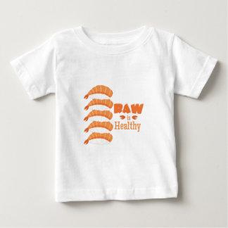 Sano crudo camiseta de bebé