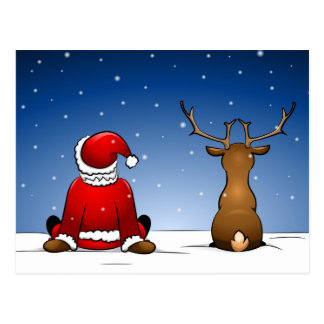 Santa and Ruloph Postal