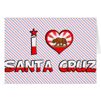 Santa Cruz, CA Tarjetas