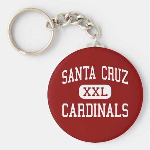 Santa Cruz - cardenales - alto - Santa Cruz Llaveros Personalizados