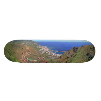 Santa Cruz de La Palma Canary Islands Spain Custom Skate Board