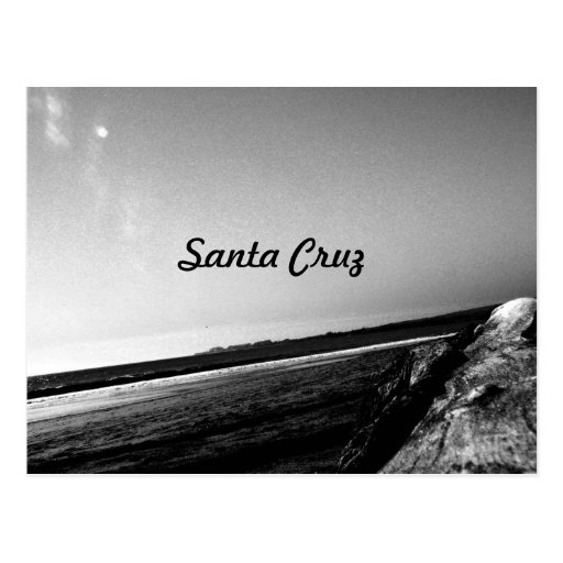 Santa Cruz Tarjeta Postal