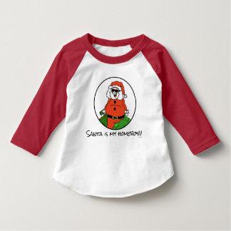 Santa es mi camisa del dibujo del dibujo animado