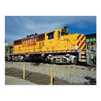 Santa Fe y no. 93 del diesel de Southern´s Postal