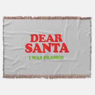 Santa I fue enmarcado -- Humor del día de fiesta Manta