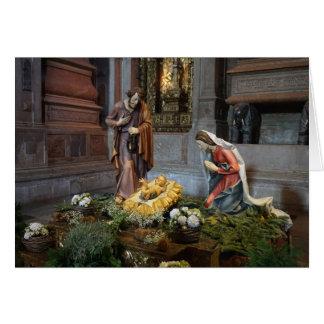 Santa María, Jesús y San José en Jeronimos Tarjeta De Felicitación