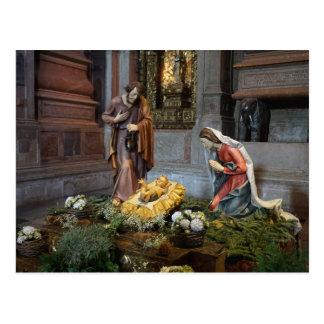 Santa María, Jesús y San José en Jeronimos Postal