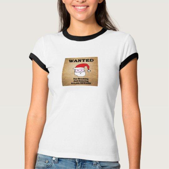 Santa más deseado camiseta