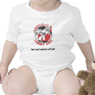 Santa no existe - pero no puedo leer todavía… trajes de bebé