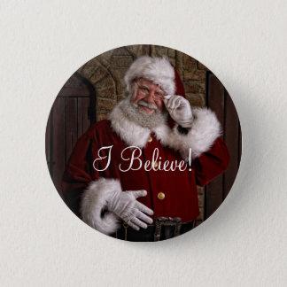 """Santa """"que creo!"""" Botón"""