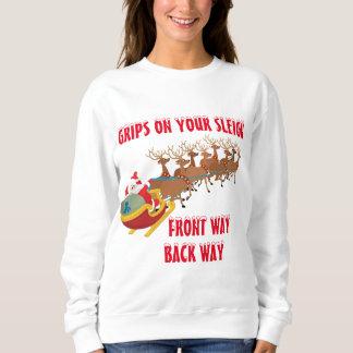 """Santa suéter de Navidad de """"una danza"""""""