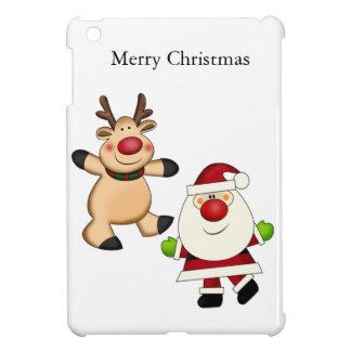 Santa y reno