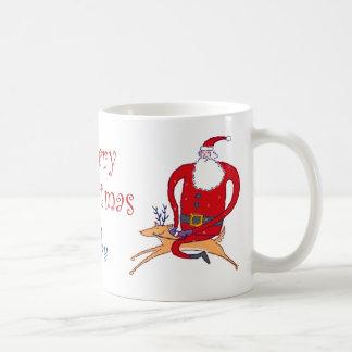 Santa y su taza preferida del reno