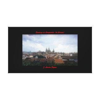 Santiago de Compostela (A Coruña) Impresiones En Lienzo Estiradas