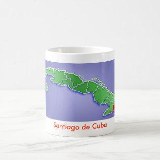 Santiago de Cuba Taza Básica Blanca