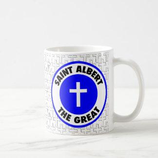 Santo Albert el grande Taza De Café