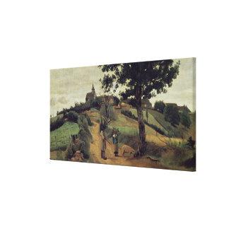 Santo-Andre-en-Morvan, 1842 Impresiones En Lona
