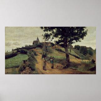 Santo-Andre-en-Morvan, 1842 Posters