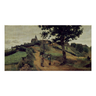 Santo-Andre-en-Morvan, 1842 Póster