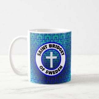 Santo Bridget de Suecia Taza De Café