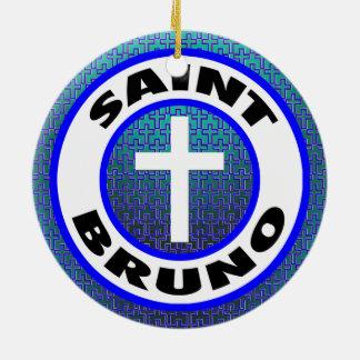 Santo Bruno Adorno De Cerámica