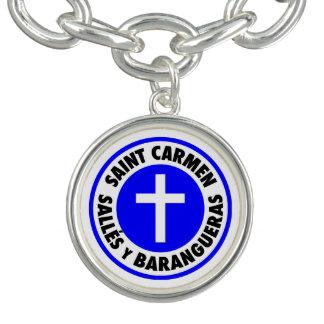 Santo Carmen Sallés y Barangueras Pulseras Con Dijer