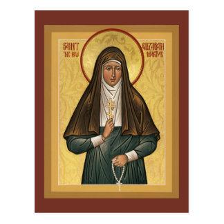 Santo Elizabeth la nueva tarjeta del rezo de