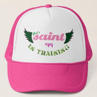 Santo en gorra (rosado) del entrenamiento