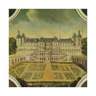 Santo-Germán-en-Laye del castillo francés Lienzo Envuelto Para Galerias