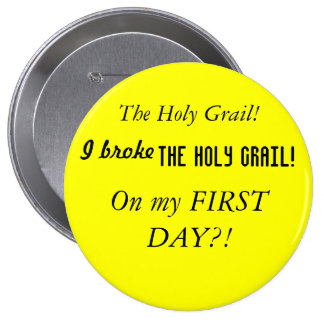 Santo grial pin