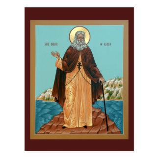 Santo Herman de la tarjeta del rezo de Alaska
