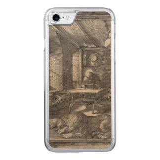 Santo Jerome en su estudio de Albrecht Durer Funda Para iPhone 8/7 De Carved