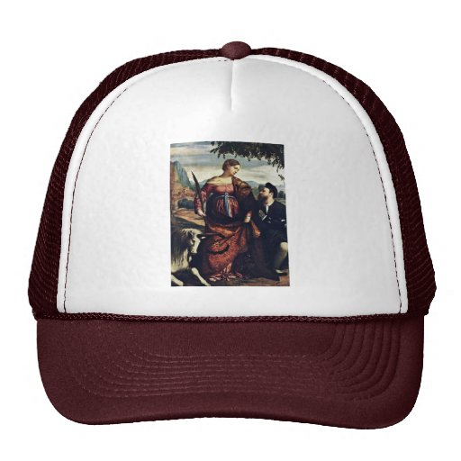Santo Justina con el unicornio, Gorras De Camionero