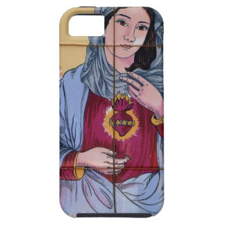 Santo Maria en iglesia católica Funda Para iPhone SE/5/5s