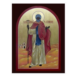 Santo Moses la tarjeta etíope del rezo