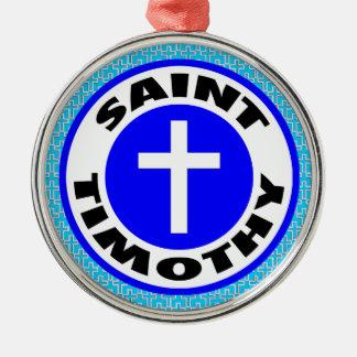 Santo Timothy Adorno De Cerámica