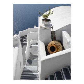 Santorini soña la postal