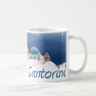 Santorini Taza Básica Blanca