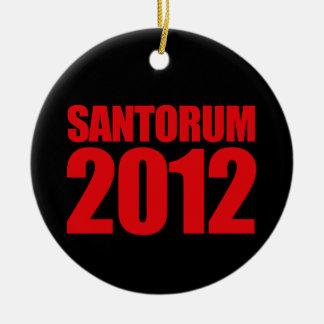 SANTORUM 2012 - ADORNO REDONDO DE CERÁMICA