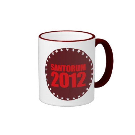 SANTORUM 2012 - TAZA DE CAFÉ